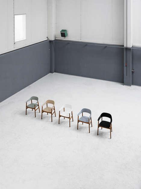Nostalgic Danish-Inspired Chairs