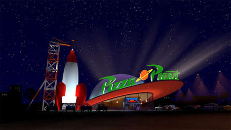 Space Arcade Pizza Restaurants