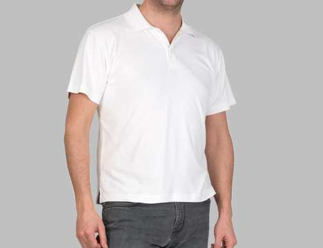 Stain-Stopping Polo Shirts