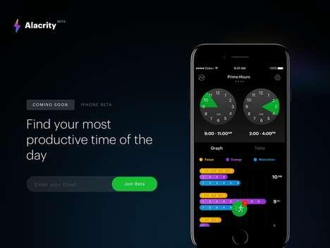Rhythm-Analyzing Productivity Apps