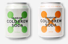 Cold Brew-Infused Sodas