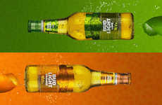 Millennial-Targeted Citrus Beers - Bud Light Orange is Brewed with Real Orange Peel for Fresh Flavor