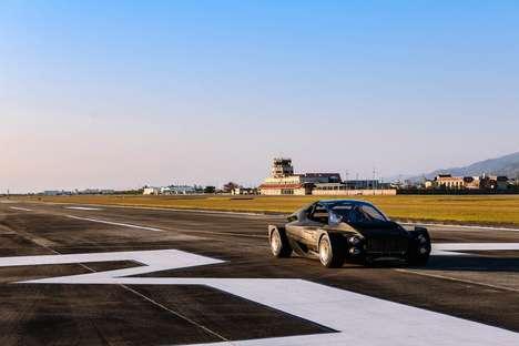 Futuristic Electric Supercars