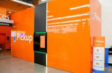 Convenient Pickup Towers - Walmart is Taking on Amazon With On-Site Package Pickup Sites
