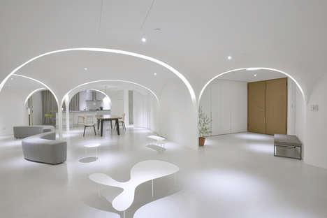 Curvaceous Pentagonal Interiors