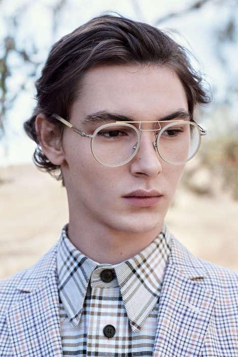 Titanium Designer Sunglasses