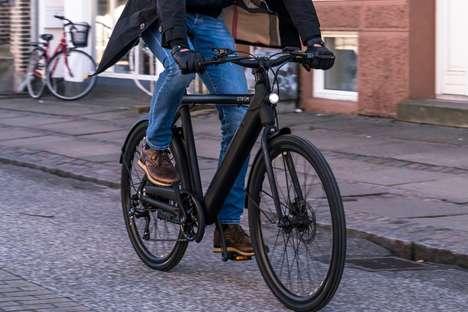 Slender Urban E-Bikes