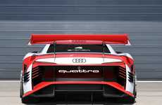 Revolutionary Electric Race Cars - The Audi e-tron Vision Gran Turismo is Inspired By Virtual Racing