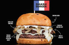 Cheesy French Onion Burgers - Smashburger's New French Onion Double Puts a Twist on a Classic Dish