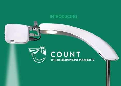 Smartphone-Powered AR Projectors