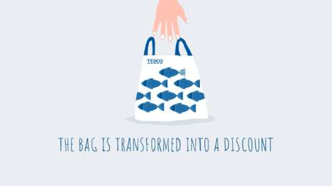 Incentivized Reusable Bags - Tesco's Unforgettable Bag Rewards Conscious Consumers with Discounts