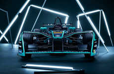 Electric Performance Race Cars - The First Formula E Car to Be Unveiled is the Jaguar I-Type 3