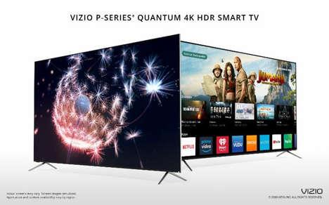 Bezel-Free Ultra-Bright TVs
