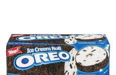 Cookie-Flavored Ice Cream Logs