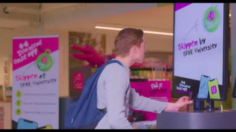On-Campus Cashless Supermarkets