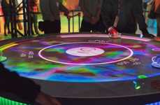 AR Air Hockey Tables - Sony Created an Augmented Reality Air Hockey Game for SXSW