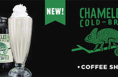 Coffee-Infused Milkshakes - The Smashburger Chameleon Cold-Brew Coffee Shake is Limited-Edition