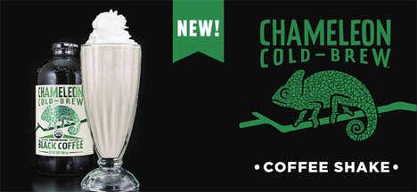 Coffee-Infused Milkshakes