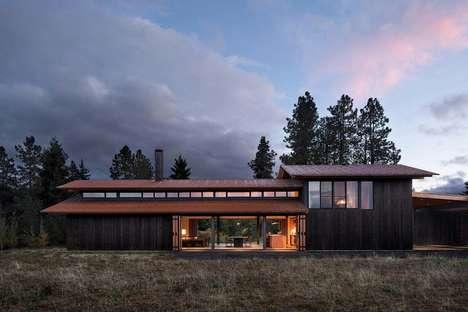 Luxe Contemporary Farming Homes