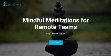Meditative Team Programs - DistroMonk Connects Remote Teams with Mindfulness Meditations