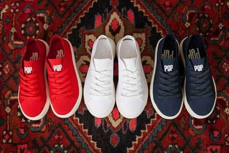 Knit Kids Athletic Sneakers