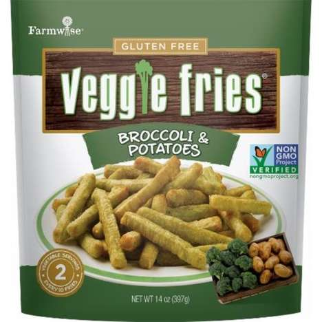 Mixed Vegetable French Fries - Farmwise's Veggie Fries Combine Potatoes, Carrots & Greens