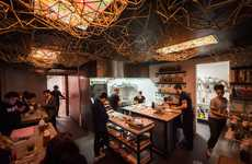 Asian-Inspired Standing Eateries