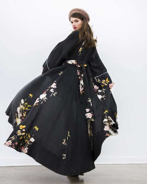 Dreamy Summer Dress Silhouettes - ByTimo Boasts Romantic and Vintage Printed Dress Designs