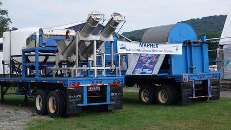 Mobile Manure-Processing Machines - The 'MAPHEX' Helps to Convert Cow Manure Into Fertilizer