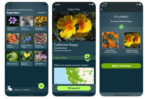 Image-Recognizing Nature Apps - The 'Seek' App Can Match Animal Photos to Specific Species