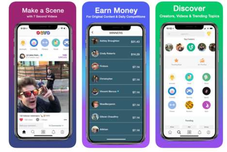 Incentivized Social Video Apps
