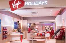 VR Travel Agency Lounges - The Virgin Holidays' V-Room is Using Tech to Get People to Travel