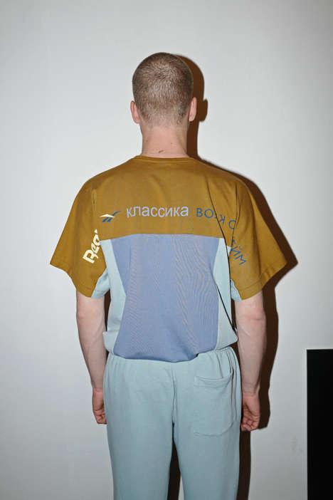 90s-Inspired Cryllic Sportswear