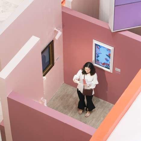Interactive Selfie Exhibitions