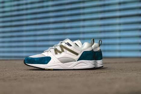 Sleek Tonal Summer Sneakers
