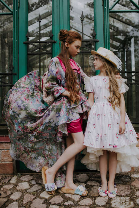 Dreamy Ultra-Luxurious Childrenswear