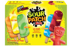 Candy-Inspired Frozen Treats - The Sour Patch Kids Ice Pops are Sour Then Turn Sweet