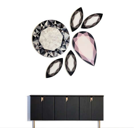 Crystal-Inspired Gem Mirrors