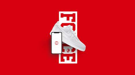Rewarding NFC Sneakers - Nike's Limited-Edition Sneakers Share Perks with NikePlus Members