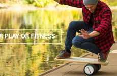 Balance-Improving Workout Boards