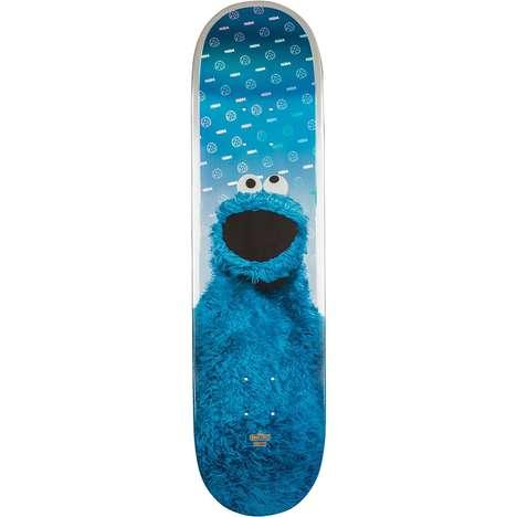 Cartoon Monster Skateboards