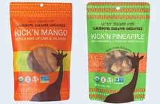Seasoned Dehydrated Fruit Snacks - The Laughing Giraffe Organics Spiced Fruit Snacks are Flavorful