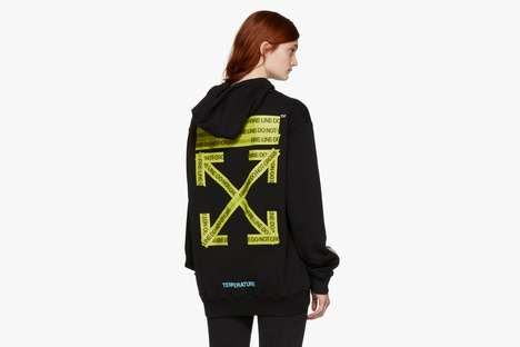 Crime Scene Tape Hoodies