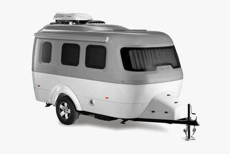The Nest Trailer by Airstream is a Lightweight and Modern Trailer