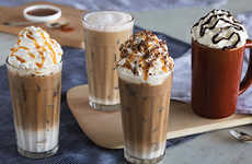 Southern Candy-Themed Lattes - Cracker Barrel Created a Chocolate, Nutty 'Goo Goo Cluster Latte'