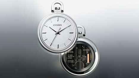 Solar-Powered Pocket Watches