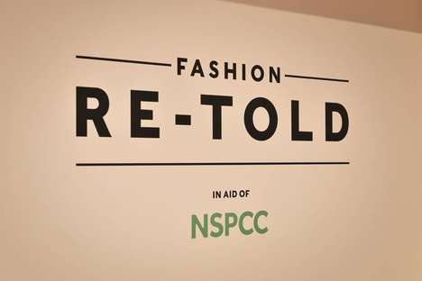 Charitable Fashion Pop-Ups - Harrods' Launched 'Fashion Re-Told' with the NSPCC to Benefit Charity