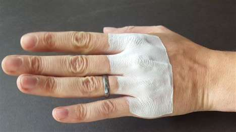 Custom-Printed Bandages - Temple University Developed a Method for Making 3D-Printed Bandages