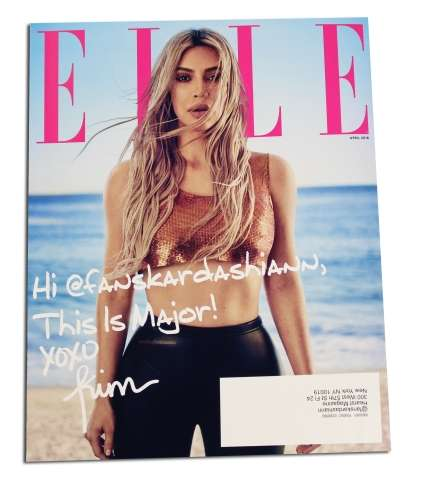 Personalized Magazine Covers - ELLE's Custom Magazine Prioritizes Customer Engagement
