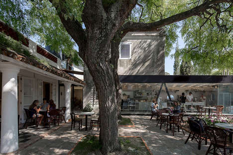 Heritage-Listed Modern Cafe Designs